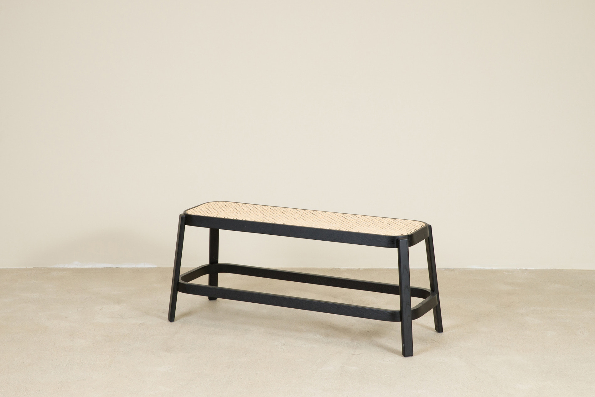 CANE bench, black