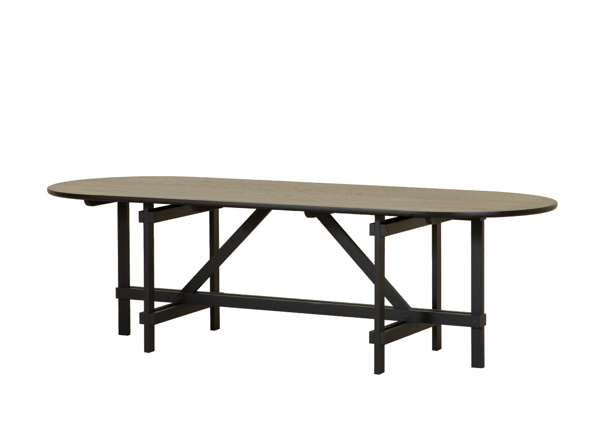 [매장문의] CANE table, black