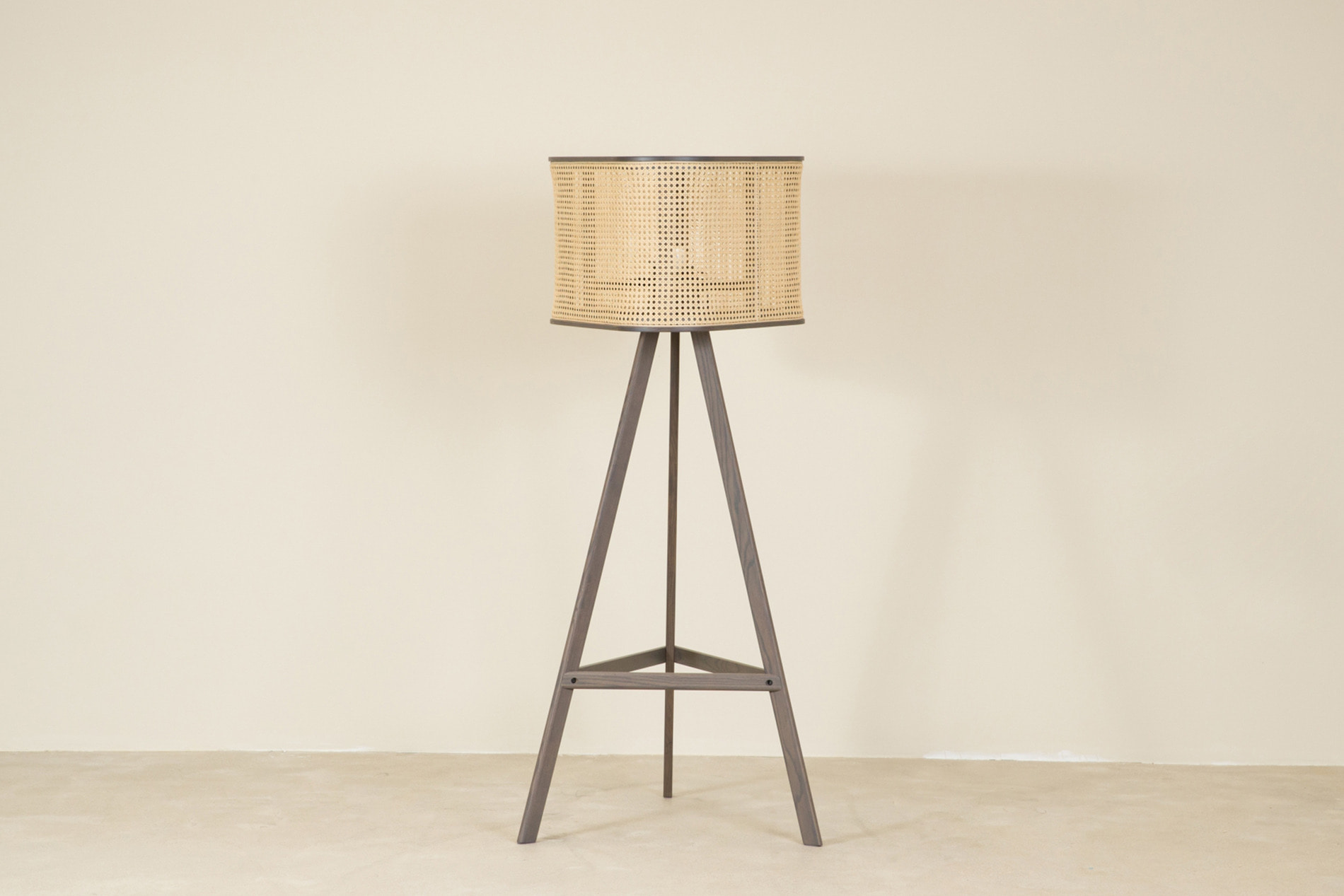 [매장문의] CANE floor lamp, dark grey