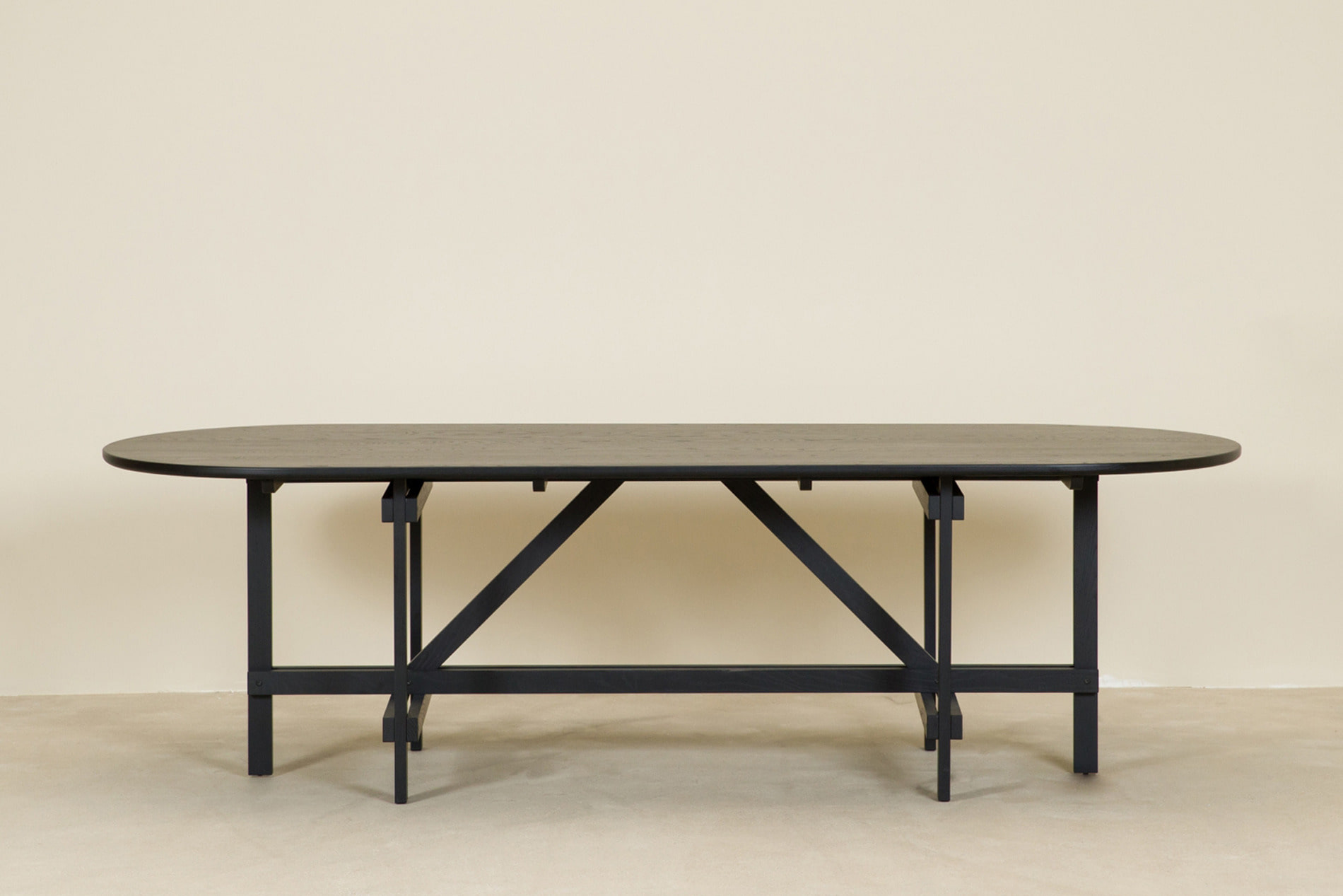 CANE table, black