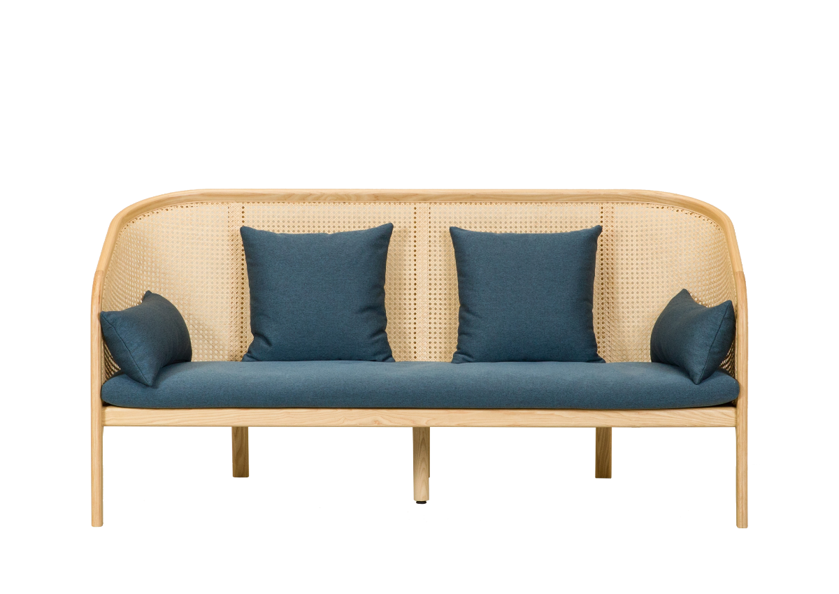 [매장문의] CANE SOFA 2P, natural ash