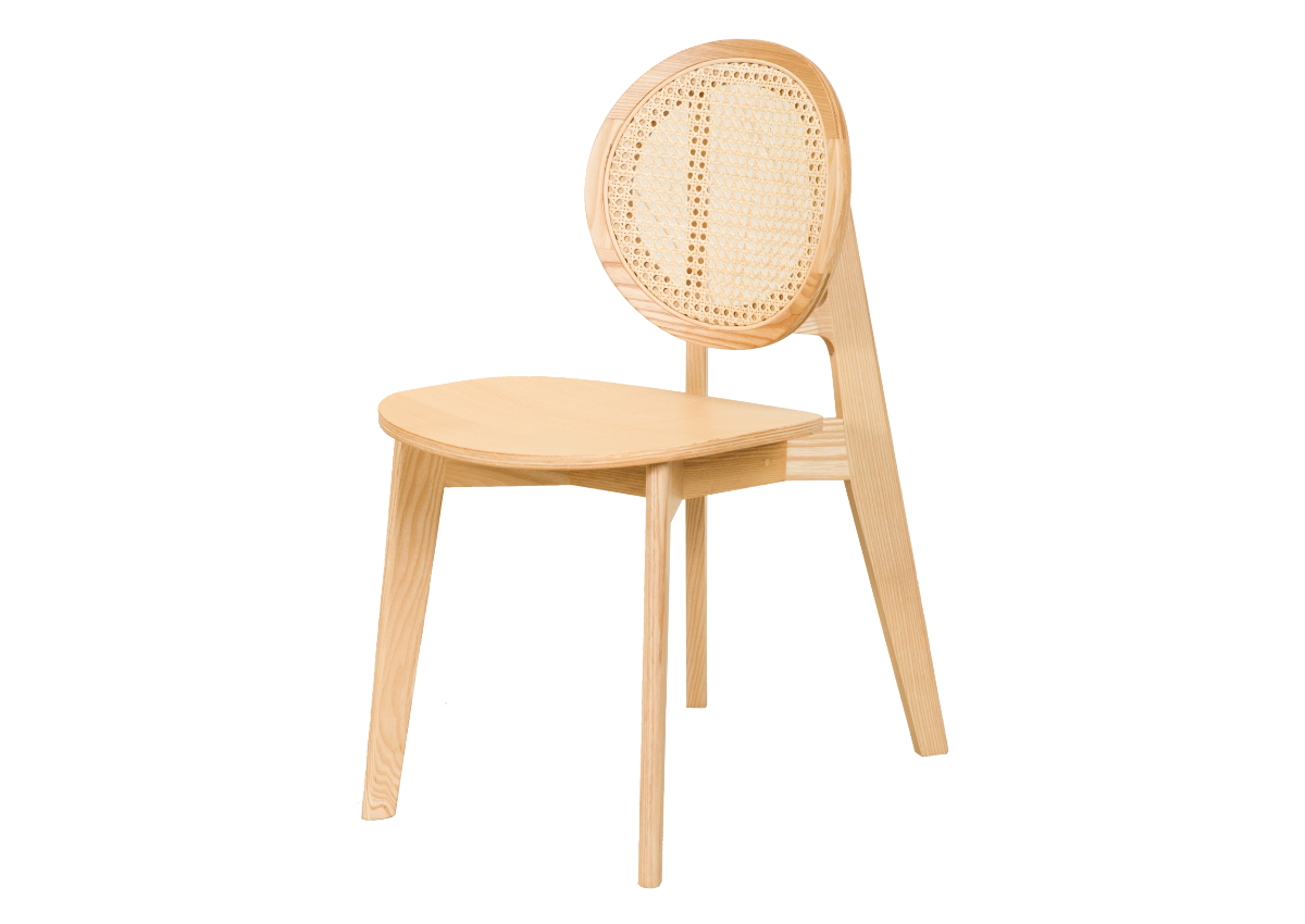 CANE chair B, natural ash