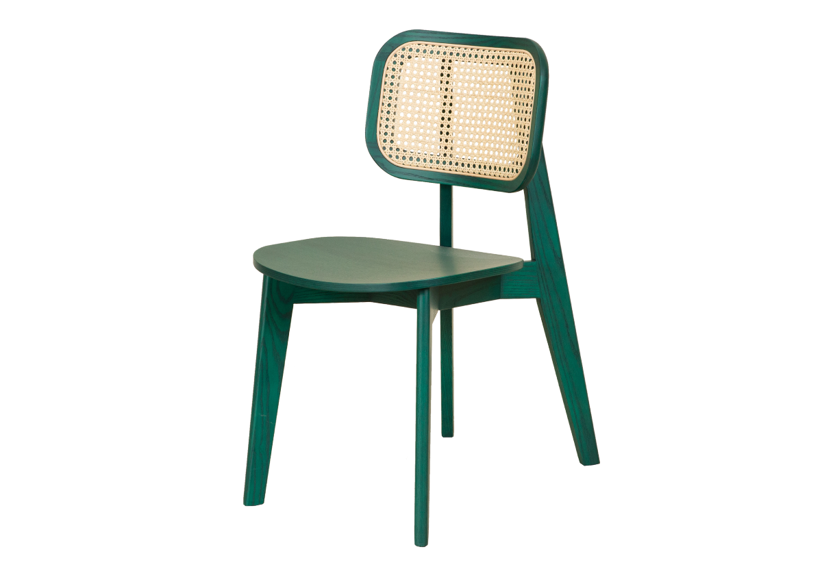 CANE chair A, green