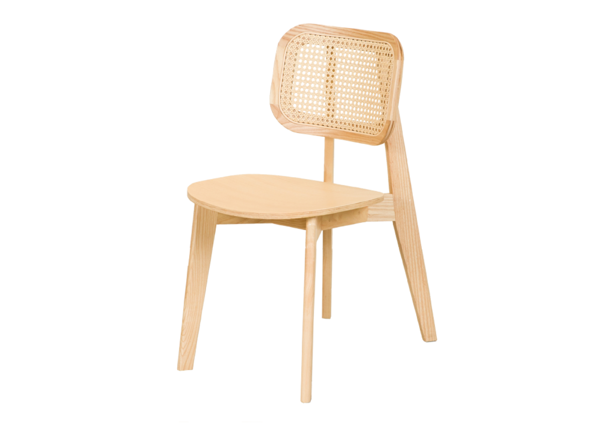 CANE chair A, natural ash