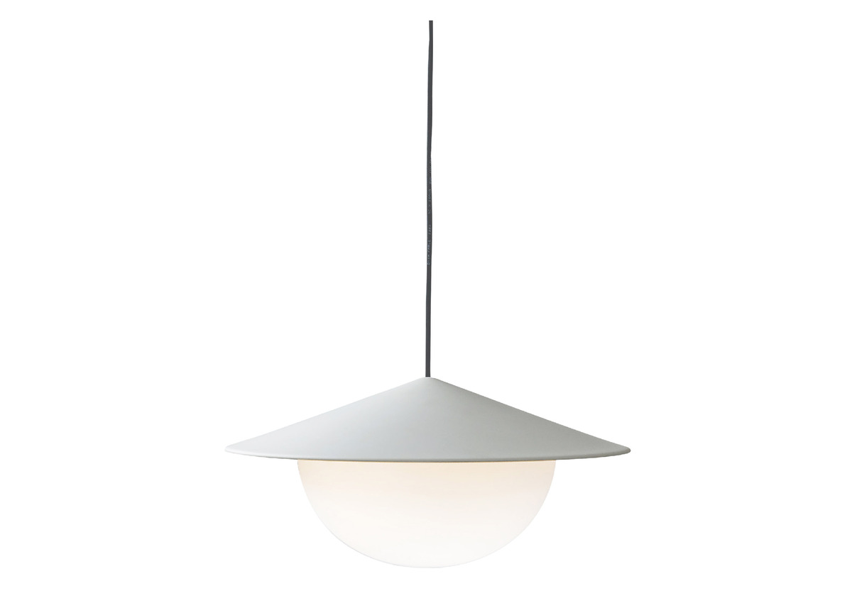 AGO alley pendant, grey (2 sizes)