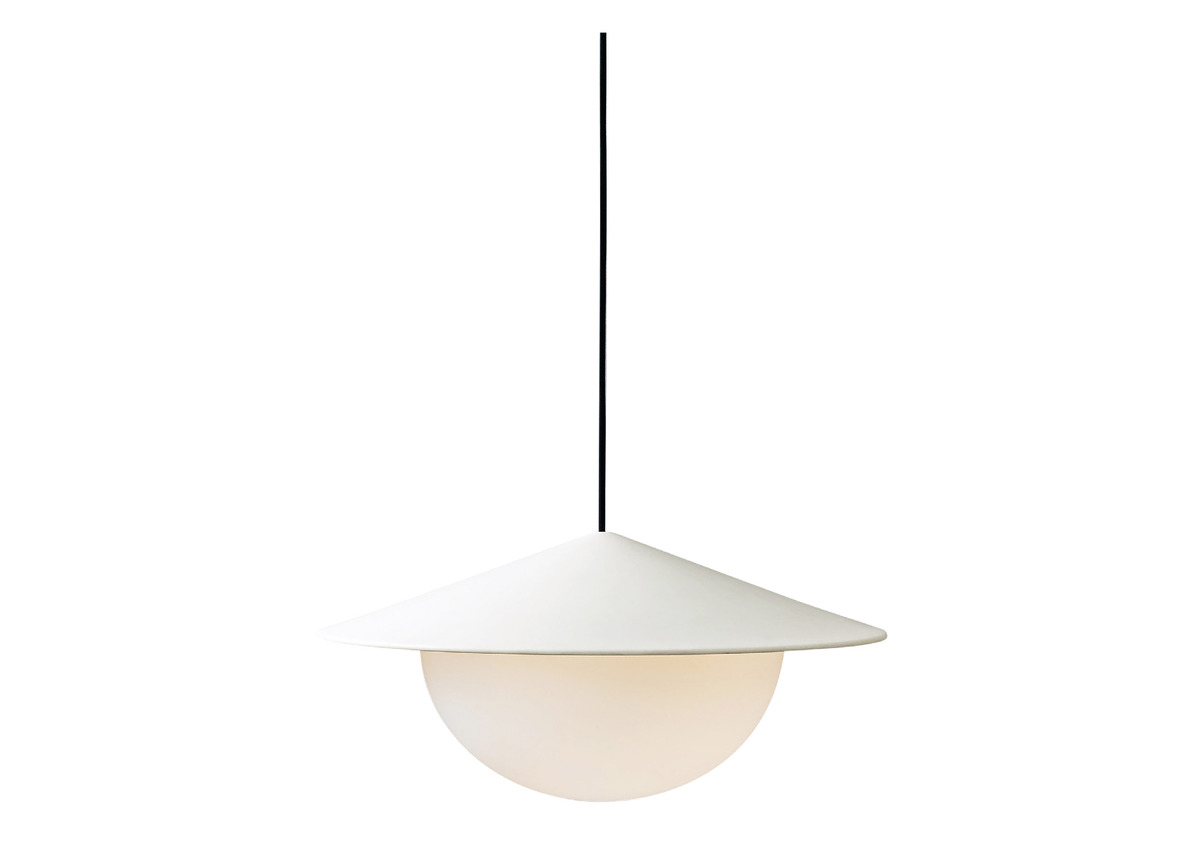 AGO alley pendant, egg white (2 sizes)