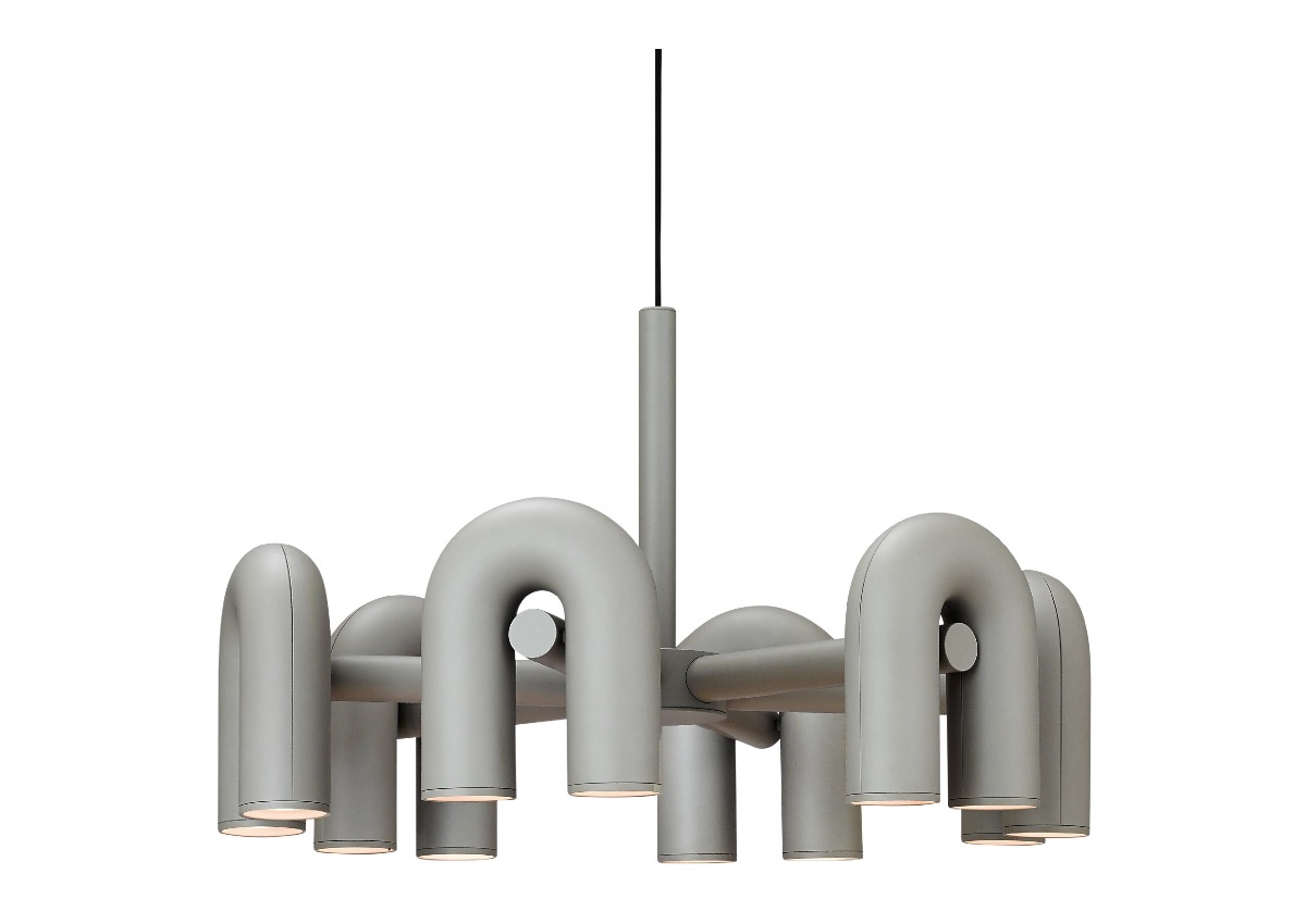 AGO cirkus chandelier (Large size), grey