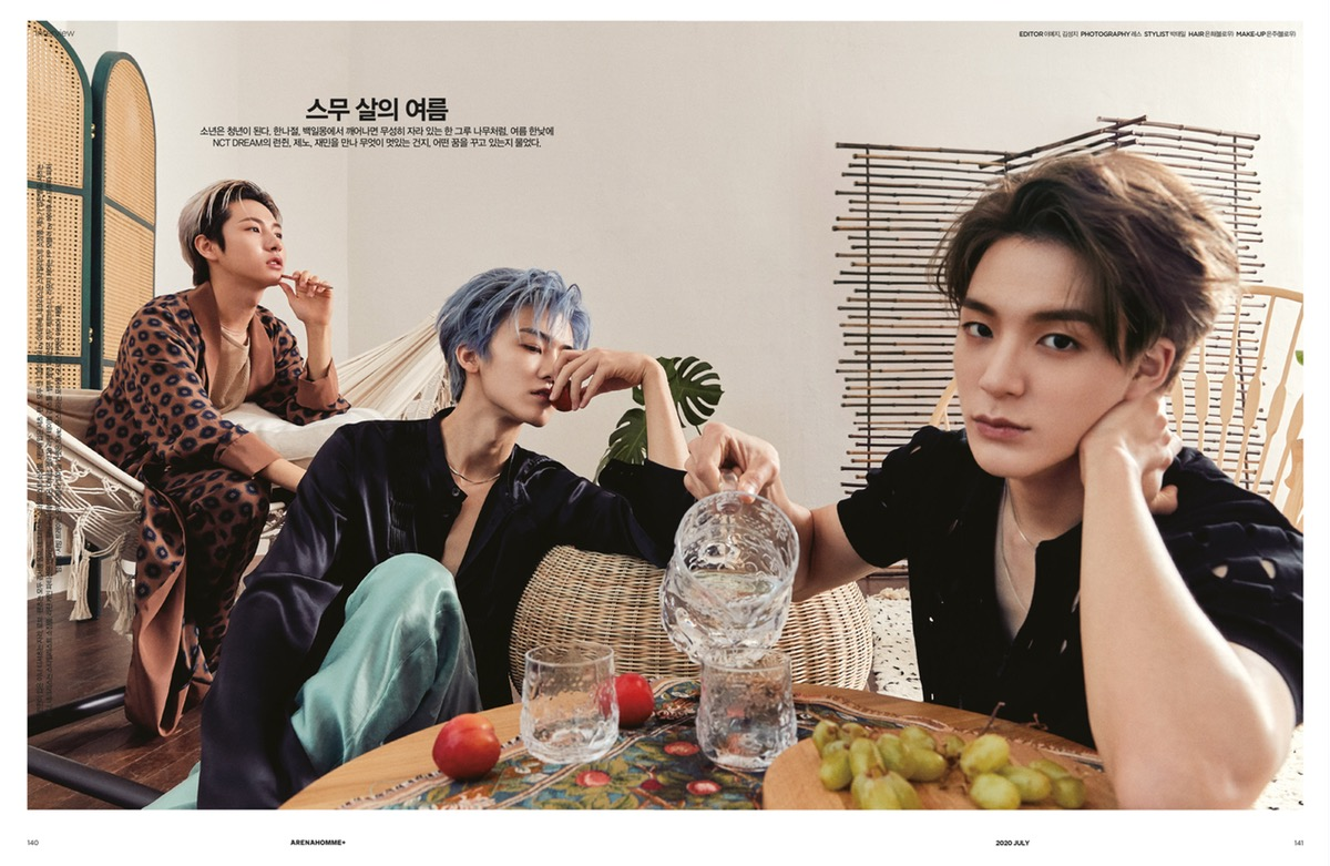 ARENA HOMME 7월호,2020