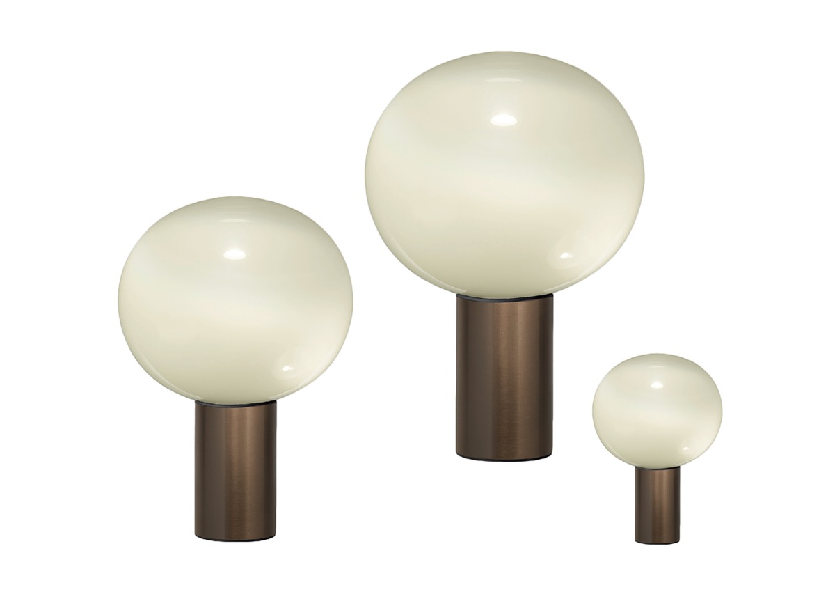 Artemide LAGUNA, satin bronze (3 sizes)