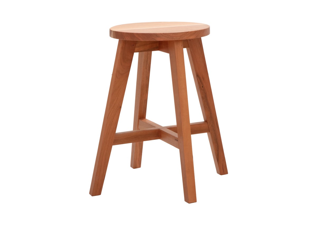 GHGM stool_SC-09, cherry (2 sizes)