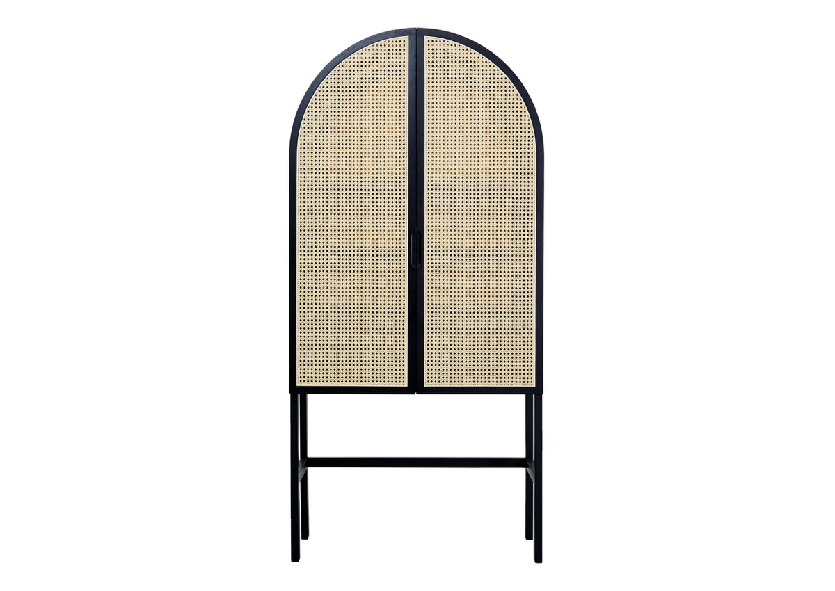 CANE dressing cabinet-01, black