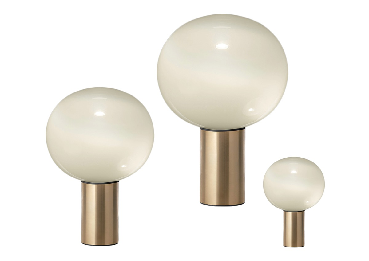 Artemide LAGUNA, satin brass (3 sizes)